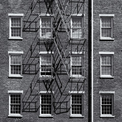 Windows and shadows (Tim Ravenscroft) Tags: shadows windows wall mill lowell monochrome blackandwhite blackwhite hasselblad hasselbladx1d x1d
