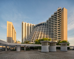 Ritz and Marina (Scintt) Tags: singapore marina bay square mandarin ritz carlton travel tourism tourist lodging hotel exclusive expensive luxury sunlight sun sky clouds light glow sunset golden orange blue contrast clear architecture city cityscape buildings structure urban exploration modern shopping mall dramatic epic vantage perspective canon tse tilt shift 17mm pce sony a7rii panorama pano vertorama stitched afternoon evening scintillation scintt jonchiangphotography tall skyscraper roof lines vertical outdoor texture wideangle facade exterior windows flyer chimney