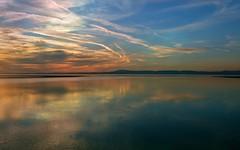 (plot19) Tags: sunset sunrise england english landscape light sea plot19 photography nikon north northern northwest uk sky water colour colours britain british