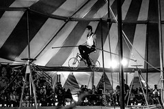 Tightrope (Andy Behlen) Tags: circus fuji xt1 90mm f2 lagrange texas fayette county fairgrounds
