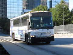 Xpress 329 (TheTransitCamera) Tags: xpress0329 xpress grta georgiaregionaltransitauthority mci motorcoachindustries d4500 publictransit transit transport transportation bus service system city urban downtown atlanta georgia