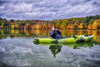 Panorama Capture, 2017.10.23 (Aaron Glenn Campbell) Tags: fssp francesslocum statepark kingstontownship wyoming luzernecounty pennsylvania outdoors optoutside autumn fall foliage leaves vivid vibrant reflections water lake overcast cloudy 3xp ±2ev hdr sony a6000 ilce6000 mirrorless macphun aurorahdr2017 luminar nikcollection colorefexpro sigma 19mmf28exdn wideangle primelens emount brother oldtown trip10 fishingkayak kayak christopher campbell family iphone8plus hailhydra otterboxcase custom agentsofshield glow softfocus imageradiance