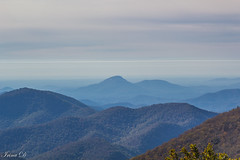 Blue mountains sea (Irina1010) Tags: mountains ridges blue layers mist isoprene blueridgemountains brasstownbald georgia morning light landscape canon nature outstandingromanianphotographers ngc npc