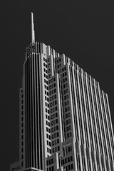 Falling in love with Chicago architecture (thefascinatingeveryday) Tags: nbc tower chicago usa architecture blackandwhite monochrome thefascinatingeveryday