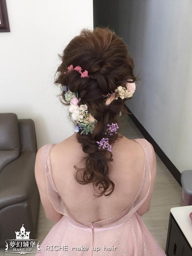 【新秘RICHE】bride萱綝 結婚造型 / 南投自宅