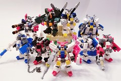 All RX-78 inspired Chubdams (The Hydromancer) Tags: lego gundam chubdam chub custom mfz mobileframzero mech mecha robot rx78 tabletop