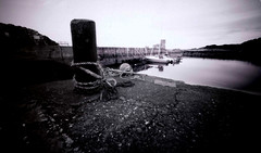 The Chocolate Box Camera at Alloway and Dunure (wheehamx) Tags: paper pinhole 5x8 negative dunure chocolate box camera