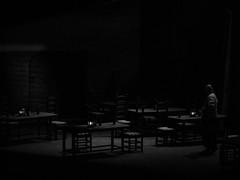 (赤いミルク) Tags: blackandwhite monochrome ビンテージ ビニル black romantism gothic コントラスト 赤 red ウォール wall ゴースト 悪魔 ghost 友人 ドア doors 贈り物 地平線 horizon モノクローム 暗い street 壁 surreal intriguing 生活 life door texture 秋 雨 overpast 賞賛 光 影 白黒 幽霊 いかだ ダンス stage people