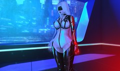 The Future.. (.❤.ρµmþkïñ.❤.) Tags: scifi cyber cyberarm space future bluelight redlight sexy hentai japaneseanime anime seconlife 2endlife 2ndlife boobs mask harness bdsm bound boundage