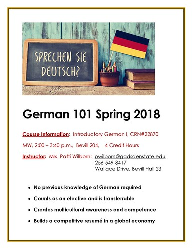 Gadsden State German Spring Flyer