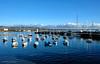Port St Mary harbour (manxmaid2000) Tags: harbour sea boat reflection blue water sky coast bay isleofman manx iom port sailing dinghy catamaran ripples yacht scene clear crisp clouds portstmary island irishsea glassy