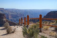 Keeping Nothing Out (BKHagar *Kim*) Tags: bkhagar grandcanyon arizona az dolansprings westrim tour fence 4000ftdown