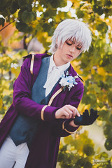 Ray (최세란) (BTSEphoto) Tags: cosplay costume play コスプレ anime banzai convention layton utah davis conference center fuji fujifilm xt1 yongnuo yn560 iii flash portrait ray 최세란 unknown choi saeran mystic messenger 수상한메신저 fujinon xf 56mm f12 r lens