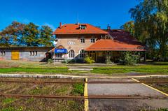 Wleń (jaceek81) Tags: wleń railway station stacja kolej jesień autumn k50 pentax