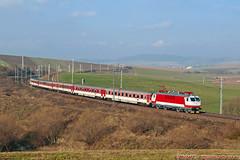 ZSSK 350.008 , IC 521 , Smižany , 07.11.2017 (Michal350) Tags: train vlak gorila zssk ic 521 350008 smizany