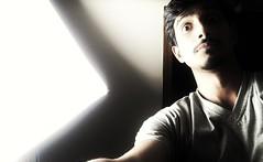 Selfie softbox (Shashi Shekhar2) Tags: portrait lowkey art selfie studiolight softbox shotoniphone iphone7 iphone