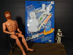 "bash 12"" snow job gi joe (theskullreviews) Tags: gi joe gijoe action man snow job snowjob vintage geyperman hall fame 12 inch custom"