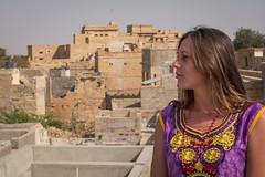 Rajasthan - Jaisalmer - Roof top restaurant-3