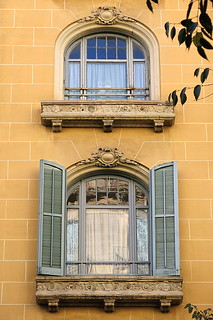 Two arched windows, Barcelona