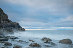 Soft Rock (jillyspoon) Tags: seascape monreith beach coast exposure tensecondexposure longexposure canon rocks water ocean scotland wigtownshire horizon early morning sigma1020mm 1020mm 20mm canon70d lee filters leefilters