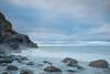Soft Rock (jillyspoon) Tags: seascape monreith beach coast exposure tensecondexposure longexposure canon rocks water ocean scotland wigtownshire horizon early morning sigma1020mm 1020mm 20mm canon70d lee filters leefilters
