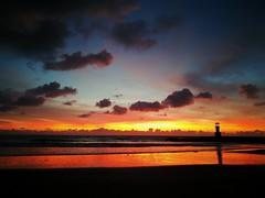 Sunset on Khoa Lak beach, Thailand (niknak2016) Tags: sundown sun sunsetsilhouette sunsetlovers sunset dusk eveningsky evening seascape sunreflectiononsea seaandsky seafront seaside endoftheday sea beautyinnature naturalbeauty nature naturelovers mothernature scenery scenics beautifulview fiery fierysky