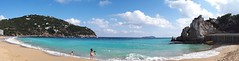 Ibiza breese (emesebujdosó) Tags: ibiza shore blue bluewaves waves summer hot calm clear clearwater sandyshore kids azul cueloazul aquaazul mediterranean sea