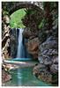 sotto il ponte val resia (Giorgio Serodine) Tags: ponte pietra acqua massi montagna canon grandangolo dalbasso valresia torrente alberi movimento cascata arcata muschio