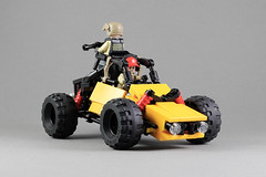 Buggy (LEGO 7) Tags: car offroad vehicle battlegrounds lego moc