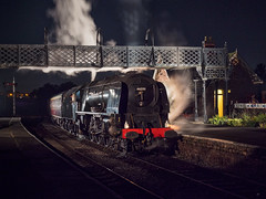 MRC2017-98 (Dreaming of Steam) Tags: 6233 46233 duchess duchessofsutherland heritage heritagerailways lms midlandrailwaycentre princesscoronation princesscoronationclass railway stainer steam steamengine sutherland train vintage engine locomotive railroad smoke steamlocomotive