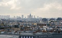 Urban Jungle (David Khutsishvili) Tags: dkhphoto paris france cityscape nikon d7100 rooftop parisian rainy day pantheon infinity endless scape