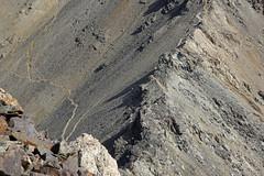 53. Mt Alam Kuh 4850m From The Summit Of Marjikesh 4580m, Alborz Mountains, Iran (Jay Ramji's Travels) Tags: marjikesh mountainside mountain people alamkuh iran alborzmountains middleeast