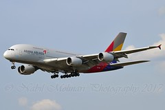 Asiana Airlines HL7641 Airbus A380-841 cn/231 @ EDDF / FRA 01-04-2017 (Nabil Molinari Photography) Tags: asiana airlines hl7641 airbus a380841 cn231 eddf fra 01042017