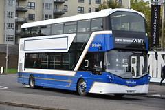 432 - SA15VTL (DavidsBuses) Tags: lothianbuses lothian skylink wrighteclipsegemini3 volvob5tl sa15 sa15vtl 432