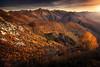 Cardada II (Chrisnaton) Tags: switzerland ticino cardada autumn autumnforest alps mountains mountainvalley eveningmood eveningsky sunset