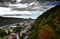Autumn (martin bildermacher) Tags: autumn herbst himmel elbsandsteingebirge sächsischeschweiz elbe woods wald nikon nature landscape landschaft germany deutschland d5100 dresden