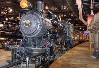 Pennsylvania Railroad Engine 1223