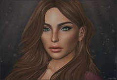 *The human face is, after all, nothing more nor less than a mask*❤ (Ⓐⓝⓖⓔⓛ (Angeleyes Roxley)) Tags: face avatar female headshot closup sl secondlife