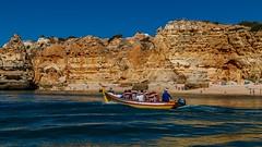 Praia da Marinha (grzegorzmielczarek) Tags: algarve boattrip portugal lagoa faro pt