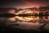 La Saône (Stéphane Sélo Photographies) Tags: france pentax pentaxk3ii saône ain arbre blending coucherdesoleil eau fleuve glace ice landscape massieux paysage river rivière sunset tronc water