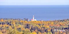 AUTUMN SCENERY |  FALL COLORS |  METIS LIGHTHOUSE  |  1909 | METIS BEACH |  PHARE de MÉTIS  ST. LAWRENCE RIVER |  MÉTIS-SUR-MER |  QUEBEC  |  CANADA (C C Gosselin) Tags: metis lighthouse | 1909 beach phare de métis métissurmer quebec canada reford gardens jardins canon7dmarkii canon 7dmarkii 7d markii mark ii canoneosrebelt2i canoneos7d canon7d eos7d canoneos eos rebel t2i ph:camera=canon autumn scenery scene fall color colors colour colours automne couleurs st lawrence river