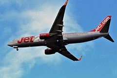 G-JZHB JET2 BOEING 737 NEWCASTLE (toowoomba surfer) Tags: airline airliner aviation aircraft jet aeroplane ncl egnt