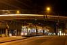 An der westlichen Endstation der Linie setzt R2-Wagen 2112 in das Wendedreieck an der Martin-Greif-Straße zurück (Frederik Buchleitner) Tags: 2112 ersatztram gleisdreieck linieu2 linieu602 munich münchen r2wagen sev schienenersatzverkehr strasenbahn streetcar tram trambahn ubahn wendedreieck wendehammer