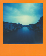 Canal Grande (glukupikron) Tags: 024mmaperture 2bellows 666pinhole color600 colorframesedition instantcamera supersense theimpossibleproject venice canalgrande