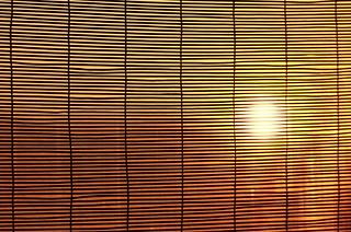 Sunrise -  through the window