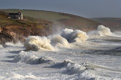 The Cruel Sea (Tony Armstrong-Sly) Tags: hurricaneophelia storm porthleven stormyseaporthlevencornwall cornwall sea roughseas bigwaves coast nature