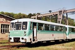 971.669+771.026 (stoker177) Tags: uznam usedom niemcy deutschland germany ferkeltaxe seebad ahlbeck zinnowitz heringsdorf szynobus schienenbus dmu szt bahnbetriebswerk lokomotywownia 971 dbregio ubb beiwagen