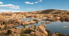 Granite Dells of Watson Lake (Ron Drew) Tags: nikon d800 arizona watsonlake lake dells granite az clouds boulders prescott reservoir outdoor granitecreek yavapaicounty autumn