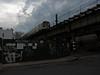 M Train (paulsvs1) Tags: mtrain train elevatedtrain subway queens ridgewood nyc newyorkcity urbanlandscape grit clouds