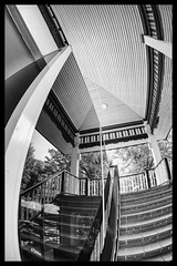 Goethe In Bangkok (Armin Fuchs) Tags: arminfuchs goetheinstitut bangkok thailand concert recital sigunevonosten stairs reflection window
